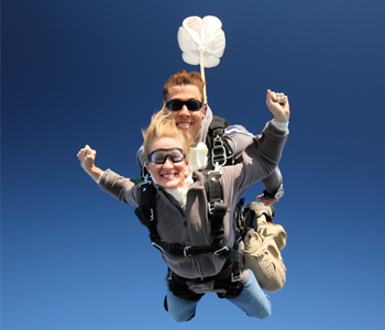 Christmas Tandem Skydiving Gift Certificates