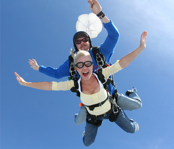 Holiday Skydiving Gift Certificates
