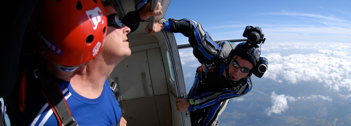 Stockton Skydiving Video Packages
