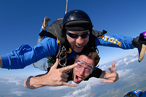 Tandem Skydiving in Stockton